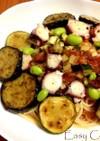 さっぱり!夏野菜マリネの冷製トマトパスタ