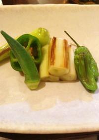 夏野菜の和風マリネ♪