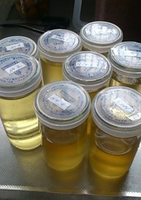 梅シロップの作り方と保存だワン