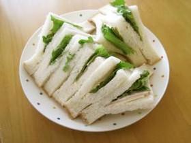 こどもが食べやすく作りやすいサンドイッチ