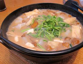 山形の郷土料理「納豆汁」山形の七草粥