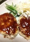 豆腐と鶏挽肉で★ふわふわハンバーグ