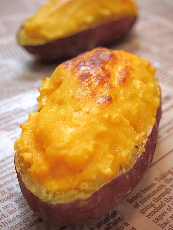 トースターで簡単♪薩摩芋☆スイートポテト