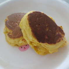 子どものおやつ☆南瓜のホットケーキ☆