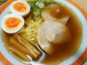 旦那レシピ☆鶏ガラで作る醤油ラーメン