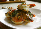 簡単!絶品❤海老と大葉のマヨポン炒め♬
