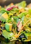 カレー・ジェノベーゼ風味のグリーンサラダ