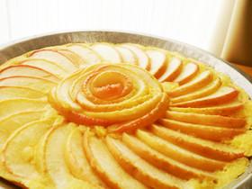 簡単、美味しい【リンゴのケーキ】