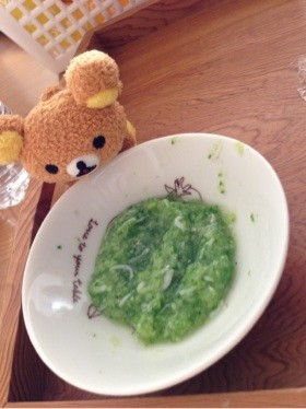 離乳食☆中期☆きゅうりのシラスおろし煮