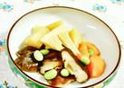 椎茸と筍の煮物(枝豆ちらし)♪