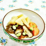 椎茸と筍の煮物(枝豆ちらし)♪の写真
