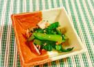 小松菜とツナのごま和え♪