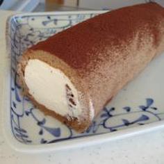 初心者でも必ず巻ける!ティラミスチーズクリームロールケーキ