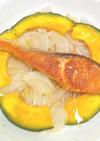 こんがり鮭の夏野菜添え♡さっぱりお酢がけ