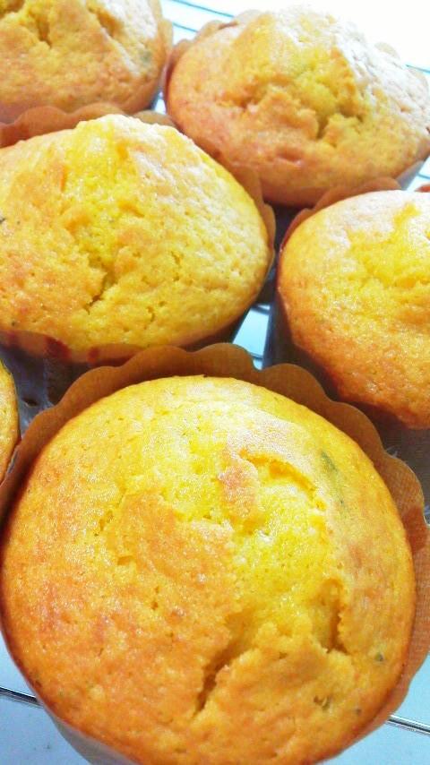 朝食おやつに☆HMで簡単☆かぼちゃケーキ