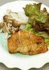 オリーブオイル風味効かせた鶏もも山椒焼き