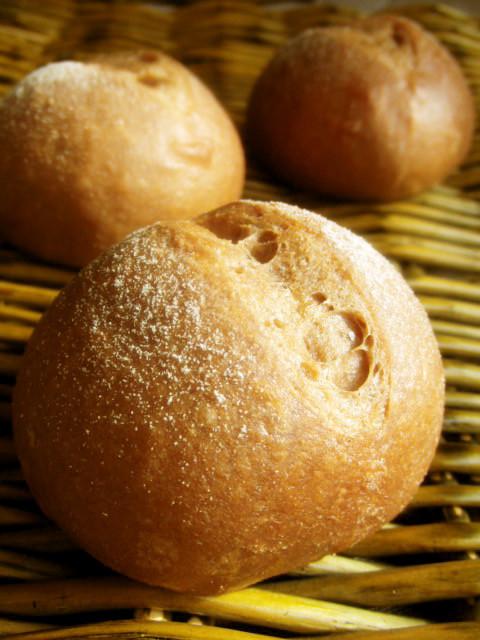 糖質制限*ふすま&大豆粉ふっくら丸パン
