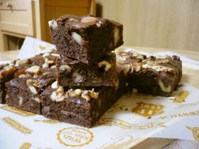 簡単チョコレートブラウニー