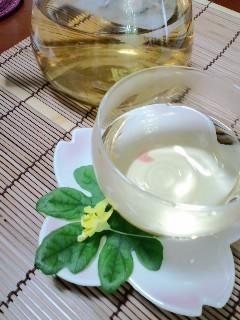 ゴーヤの種と綿でお茶