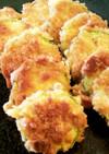 ズッキーニのクラッカーフライ、揚げ焼き