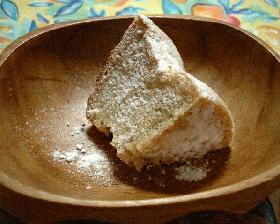 シナモンのシフォンケーキ