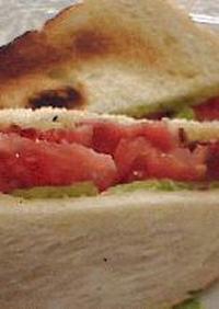 HOTサンドイッチといえば!BLT!