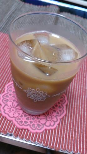 ☆黒蜜でアイスカフェオレ☆
