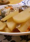 鯖の水煮缶de大根の煮物