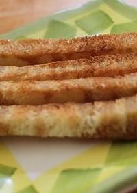 ザクザク☆食パンのラスク