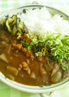 牛すじと味噌で☆大阪どて焼き風カレー