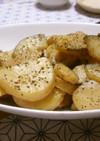ズッキーニとジャガイモのマヨぽん炒め