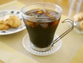 ドリップで☆本格的なアイスコーヒー