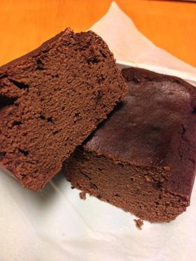低糖質しっとりおからココアケーキ