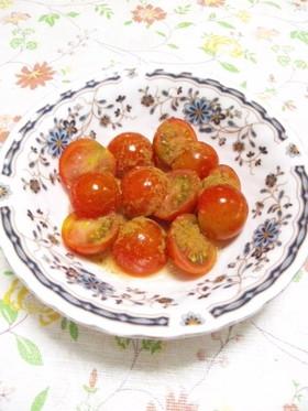 めざせ美肌! トマトのハニーシナモン♪