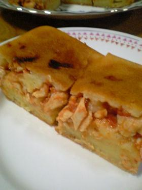 ブラジル料理のトルタサウガーダ