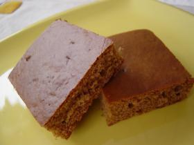 ★バター・砂糖不使用ホットケーキミックスでチョコケーキ★