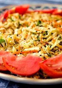 中華風白菜サラダ (グルテンフリー)