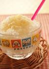 甘くて爽やか♪はちみつレモンかき氷