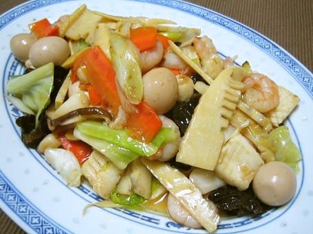 シーフードミックスで本格中華♪海鮮八宝菜
