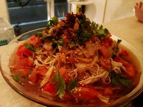 アジアン風スープ素麺