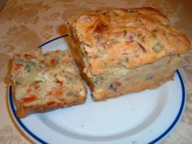 ミネストローネのパウンドケーキ