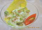 簡単♪ おいし~ぃ蟹とセロリのサラダ