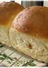 オートミールとレーズン入り山形食パン