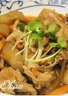 食物繊維たっぷり♪ズイキと鶏肉の煮物
