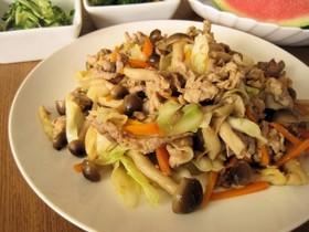 豚肉と野菜の味噌だれ炒め