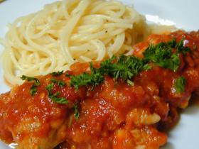 鶏もものトマト煮・1