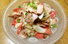 簡単♪さっぱり☆焼豚のサラダ