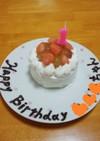 1歳のバースデーケーキ★(離乳食完了期)