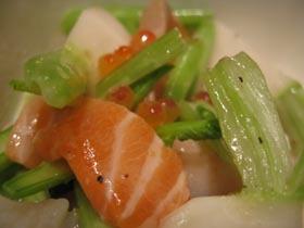 魚介&かぶのサラダ