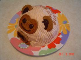 祝1歳 お猿のバースデーケーキ